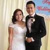Vợ Việt Kiều của nam diễn viên Hoàng Anh bị chê kém sắc hơn chồng quá nhiều trong đám cưới