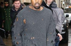 Mốt áo rách của Kanye West đang thống trị Holy wood