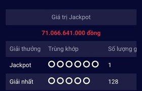 Người thứ 3 trúng vé số điện toán hơn 71 tỉ đồng