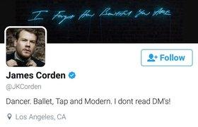 James Corden follow BTS trên Twitter ?A.R.M.Y sẽ ngạc nhiên khi biết anh là ai !